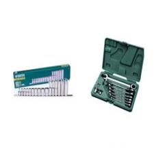 "SATA 16 PC 1/2"" Dr.Socket Clip Rail Set (Metric)"