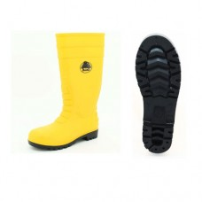 Pvc Gumboots Yellow High Cut S5