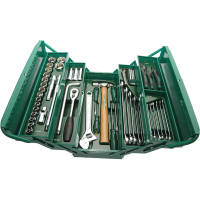 SATA 70 PC Cantilever Mechanic Tool Chest & Tray Set (MM)